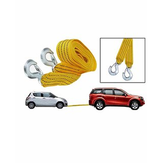 Takecare Car Auto Towing Tow Cable Rope Heavy Duty 3 Ton 3.5Mtr For Chevrolet Beat