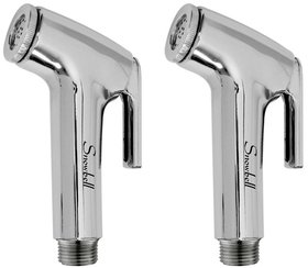 Snowbell Continental Health Faucet Head PVC Chrome Plated - Buy 1Get 1 Free