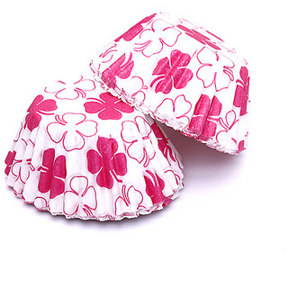 Clover Print Mini Cake Chocolate Paper Cases Cupcake Cases