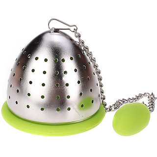 Silicone and Stainless Steel Tea Infuser Strainer