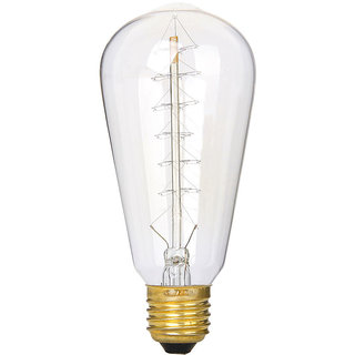 Edison tungsten filament vintage antique Light Xmas tree shape filament Bulb Lamp AC 110-120 V 40W