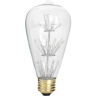 AC110-120V 3W Edison Filament Vintage Antique LED Light Bulb E27 ST64