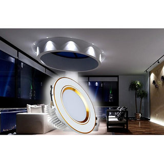 5W LED Round Recessed Ceiling Panel Downlight Spot Light Lamp Warm White