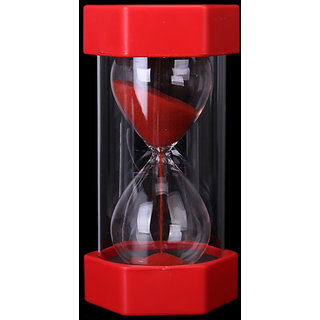 Security Fashion Hourglass 1 Minutes Sand Timer -Red