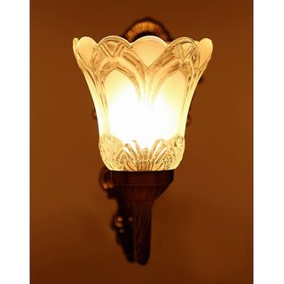 100% authentic 474ac a5f68 Blooming Flower Aesthetic Antique Wall Light
