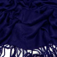 Anuze Fashions Viscose Solid Stole  Shawls (NEVY BLUE SHAWLS-BNEIUZ-XCEC43)