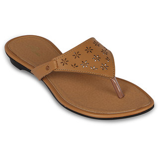 Flora Casual Wear Beige Sandal