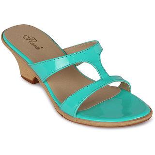 242150d0417 Buy Flora Casual Wear Green Wedges Online - Get 68% Off