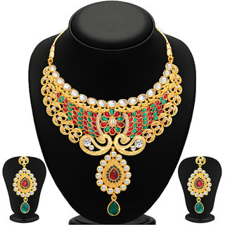 sukkhi-redgolden-alloy-gold-plated-necklace-set-for-women