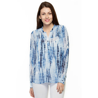 Oxolloxo Voguish Womens blue top