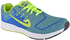 MAX AIR RUNNING SPORTS SHOES FOR MENS MA-2 P.GRN BLUE