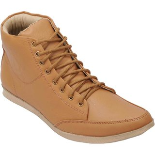 Bachini Mens Casual Shoes (1503-Tan)