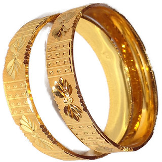 SALONI ARTIFICIAL GOLD PLATED 2 BANGLES