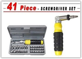 41 In 1 Pcs Tool Kit And Screwdriver Set Very Useful For Home, Office, Pc And Car