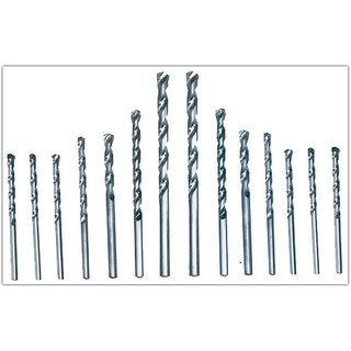 Pack Of 9 Hss Drill Bits Professional Quality