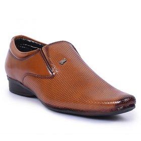 Foot N Style Men's Tan Formal Shoes
