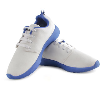 UV White Blue Roosh Run Running Shoes OMR1UVA7