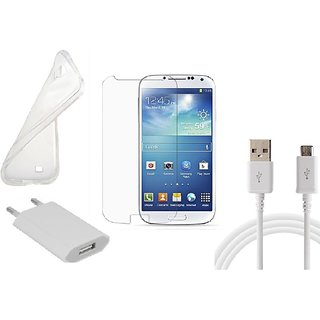 HQ USB Charger+USB Cable+Back Cover+Temper for Samsung Galaxy S3