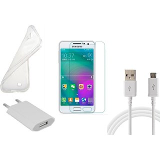 HQ USB Charger+USB Cable+Back Cover+Temper for Samsung Galaxy A5