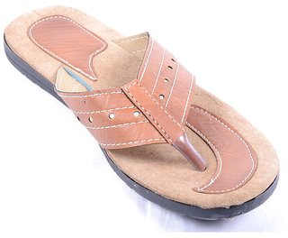 Forever Men's Brown Slip On Floaters