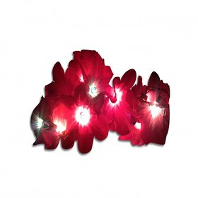 VRCT Red Flower String Light (Multicolor)