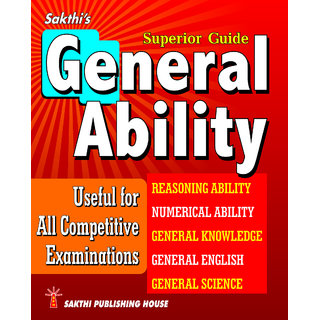General Ability Book In English Useful For All Competitive Exams