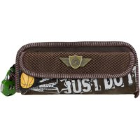 ANNI CREATIONS BASKET BALL PENCIL POUCH ( BROWN )