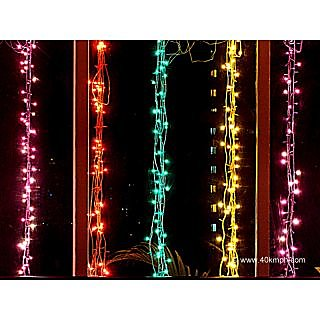 pack of 5-15 mtr Different Colour LED lights For Diwali Decoration