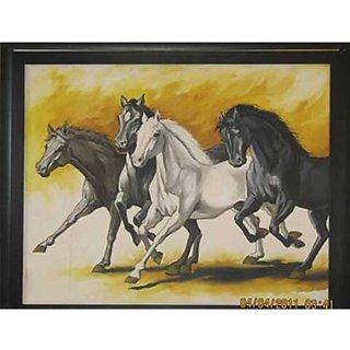 Four Running horse