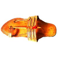 Kolhapuri chappals (Men) with Anti Skid Sole