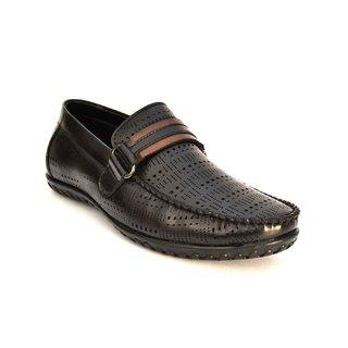 Zoot24 Black Casual Wear Loafers