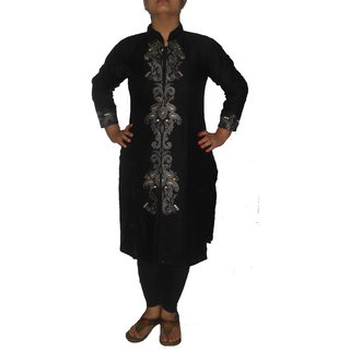 Aapti Party, Formal, Festive Embroidered Womens Kurti