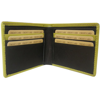 Silverbull Black Green Leather Wallet