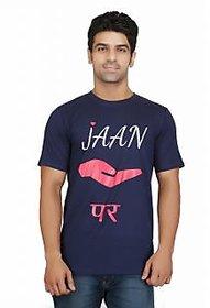Crazeis Quirky Design T-Shirt JAAN HATHELI PAR for Men