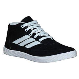Glaze Stylish Casuals Shoe - Black
