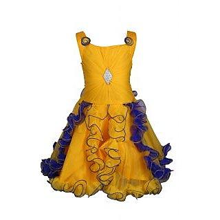 0417b206231 Buy Qeboo Beautiful Party Wear Girls Dress Online - Get 73% Off