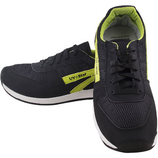 UV Uv Star Black Sport Shoes OMSVUVG20