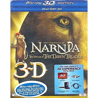 The Chronicles Of Narnia The Voyage Of The Dawn Treader 3D (3D Bluray) (Movie, 3D Blu Ray)
