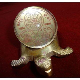 Sampurna Shree Yantra on Tortoise
