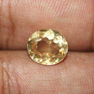 6 Carat Extermly Beautiful Loose Citrine Shiny Oval Shape Stone