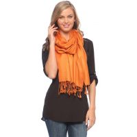 Anuze Fashions Shapely Viscose Solid Stole  Shawls For Womens And Girls