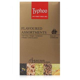 Typhoo Flavoured Assortment Box, 25 Tea Bags
