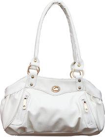 Fostelo Elite Swann White Handbag FSB-145
