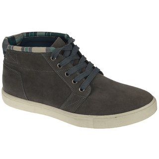 Khadims Lazard Grey Casual Lace-Up Shoe