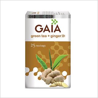 Gaia Ginger Green Tea (25 Tea Bags)