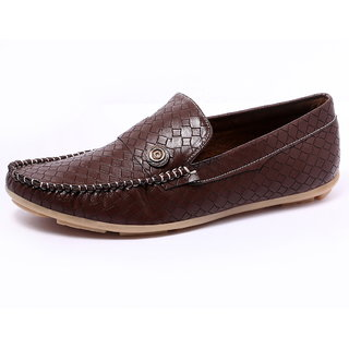 Louis Praiyo Brown Mens Casual Loafer Shoes