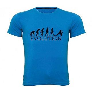 Sportskeeda Evolution Cricket Blue T-shirt