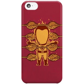 The Fappy Store Fantastic 4 Griller Hard Plastic Back Casecover Apple Iphone 5C