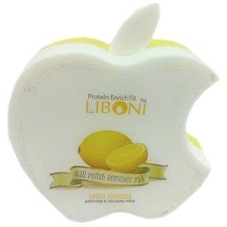 Liboni Nailpolish Remover Pad Lemon Flavoured