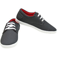 Port OddY Pure Black Casual Sneaker Shoes For Men